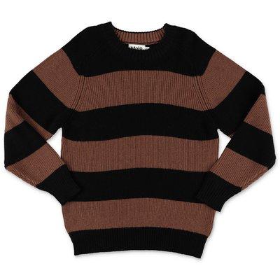 MOLO pullover a righe Bosse in maglia di cotone