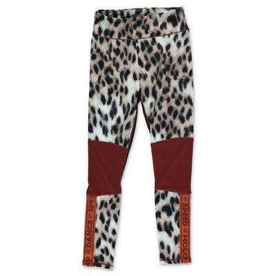 MOLO leggings animalier Olympia in techno tessuto stretch