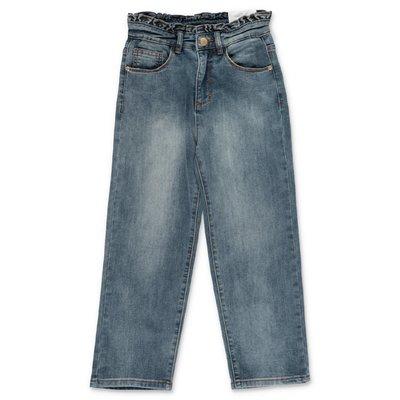 MOLO jeans blu Astrid in cotone denim stretch