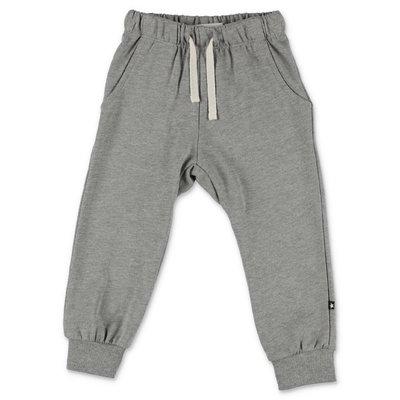 MOLO pantaloni grigio melange in cotone