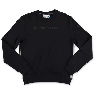 North Sails Prada black cotton sweatshirt