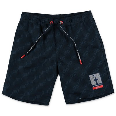 North Sails Prada costume shorts da mare blu navy  in nylon
