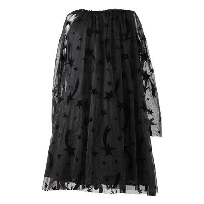 스텔라 매카트니 스타 패치 시프트 드레스