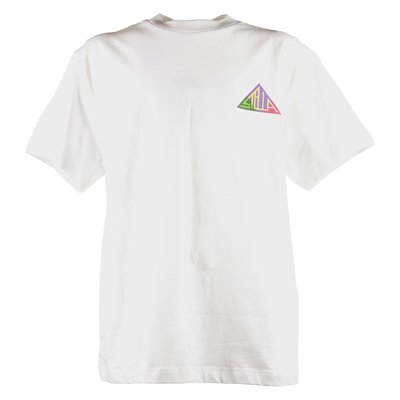 White logo detail cotton jersey t-shirt