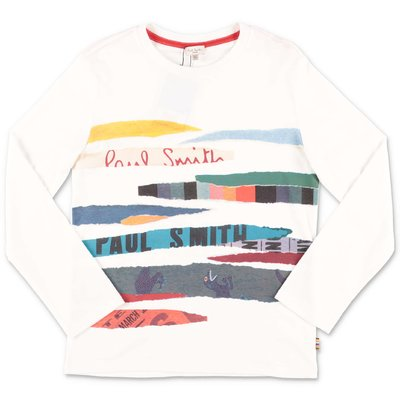 Paul Smith white cotton jersey t-shirt