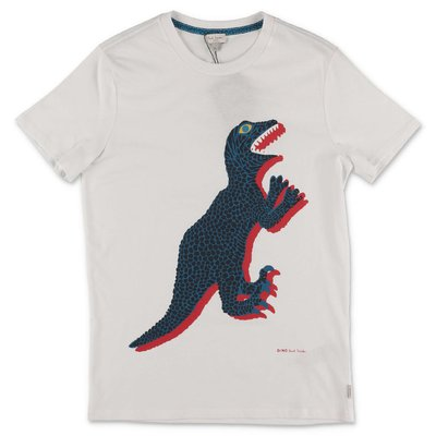 Paul Smith t-shirt bianca in jersey di cotone
