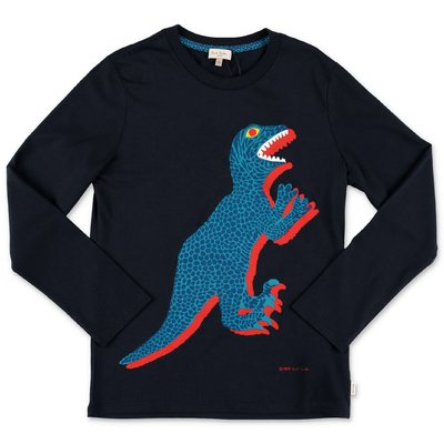 Paul Smith t-shirt blu navy in jersey di cotone