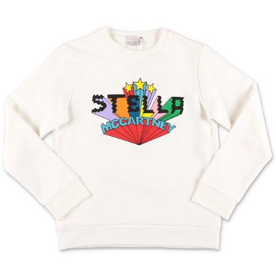 Stella McCartney white cotton sweatshirt
