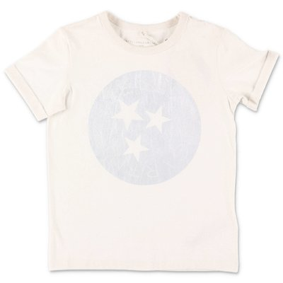 Stella McCartney t-shirt bianca in jersey di cotone