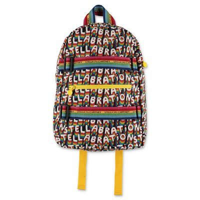 Stella McCartney multicolor nylon backpack