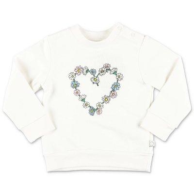 STELLA McCARTNEY 스웨트 셔츠 화이트 코튼