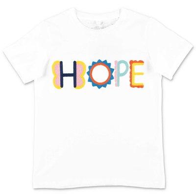 Stella McCartney t-shirt bianca Hope in jersey di cotone