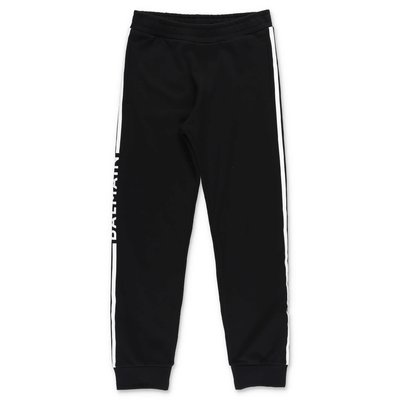 Balmain black cotton sweat pants