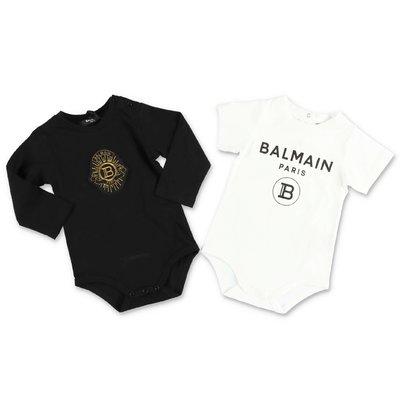 BALMAIN cotton jersey set