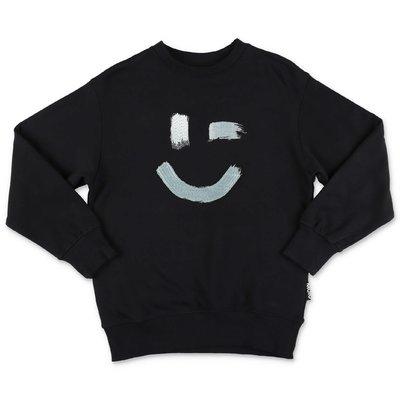 MOLO 스웻 셔츠 Mattis 블랙 코튼