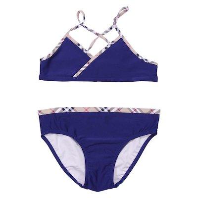 Navy blue lycra bikini