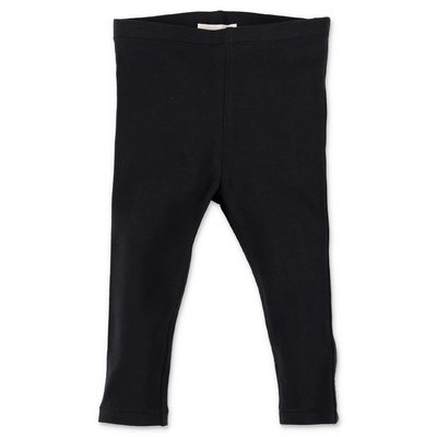 Burberry black logo stretch cotton Mini-Krista leggings