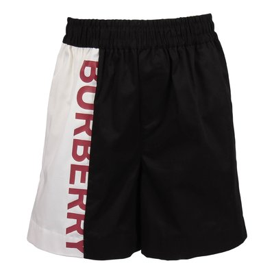 Black FINN logo detail swim shorts