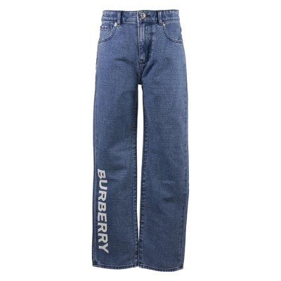 Jeans RELAXED-JEAN in denim di cotone stretch con logo