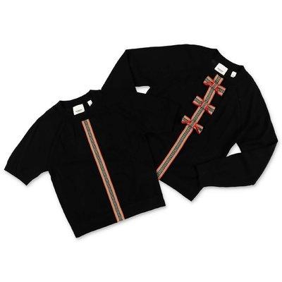 Burberry set da due pezzi CORRINA in pura lana merino