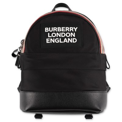 Burberry black nylon NICO backpack