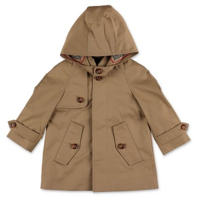 Burberry beige BRADLEY cotton canvas trenchcoat