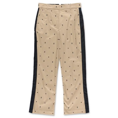 Burberry JONI beige cotton pants