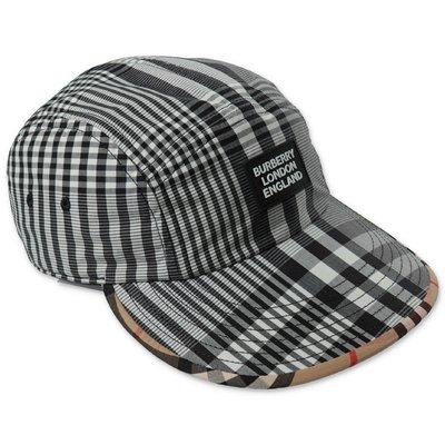 Burberry RICKY Tartan & Vintage Check baseball cap