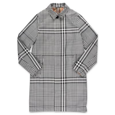 Burberry car coat reversibile in nylon