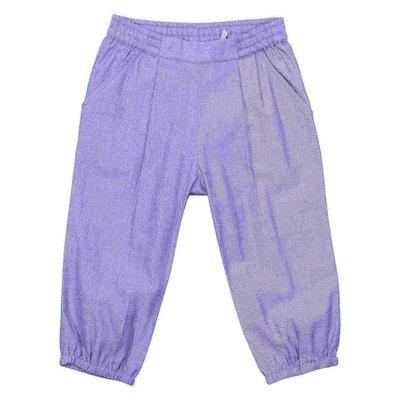 Pantaloni azzurri in cotone
