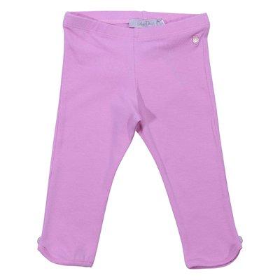 Leggings rosa in cotone