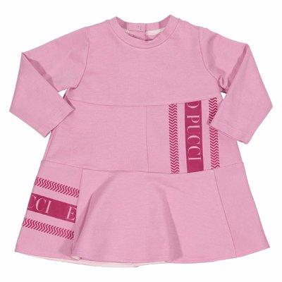 Abito rosa in misto viscosa
