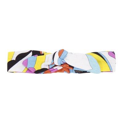 Abstract print stretch cotton headband