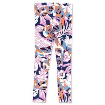 EMILIO PUCCI abstract print stretch cotton leggings
