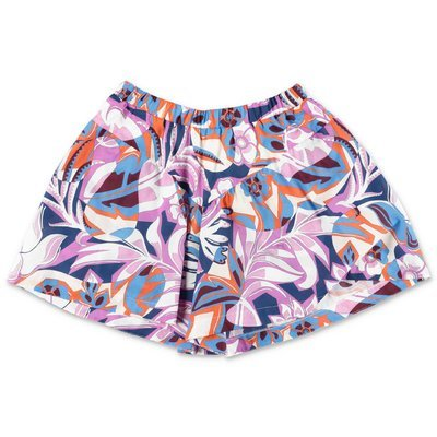 EMILIO PUCCI printed cotton jersey shorts