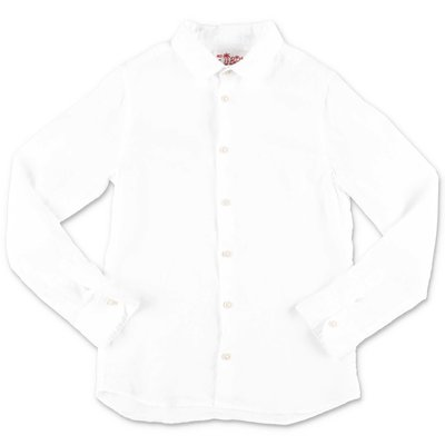 MC2 Saint Barth white linen shirt