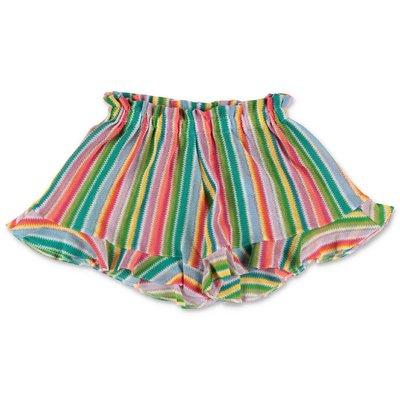 MC2 SAINT BARTH multicolor cotton shorts