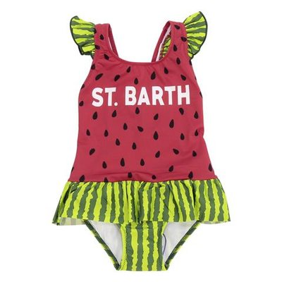 Costume intero tema watermelon in lycra