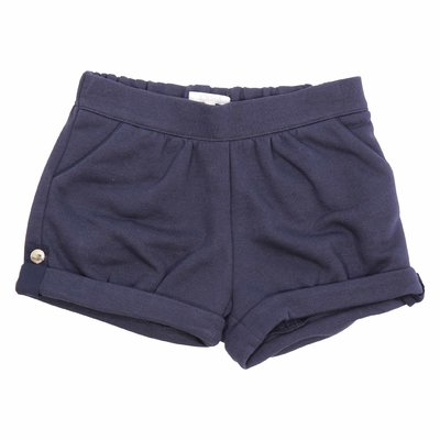 Chloé navy blue cotton sweatshorts