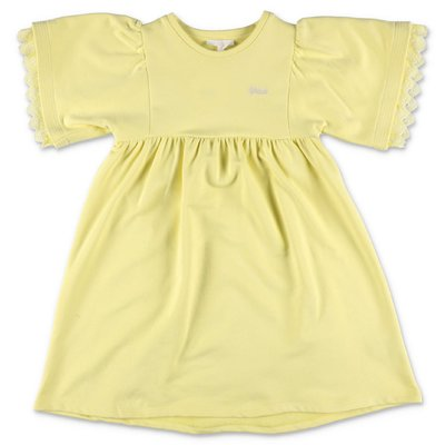 Chloé yellow cotton t-shirt dress