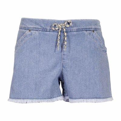 Shorts in denim di cotone