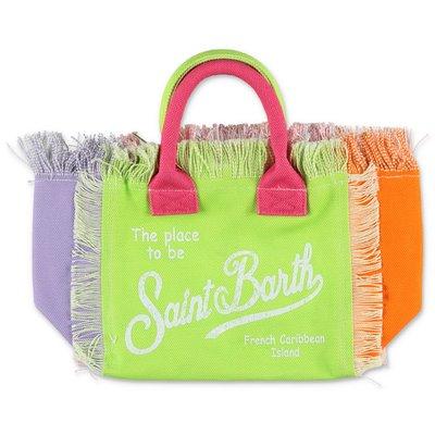 MC2 Saint Barth multicolor cotton canvas Colette bag