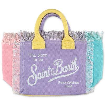 MC2 Saint Barth borsa Colette multicolor in canvas di cotone