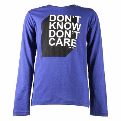 도나 카란 뉴욕 코튼 저지 티셔츠