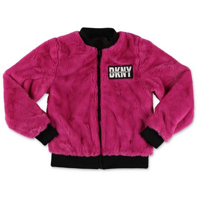 DKNY logo reversible jacket