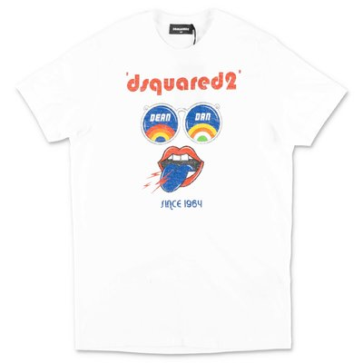 DSQUARED2 white cotton jersey t-shirt