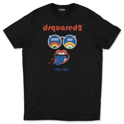 DSQUARED2 black cotton jersey t-shirt