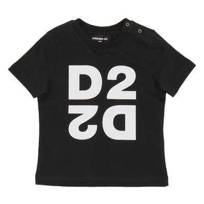 DSQUARED2 black logo cotton jersey t-shirt