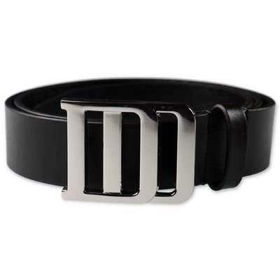 DSQUARED2 black calf leather belt