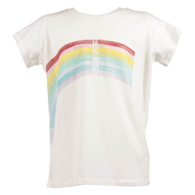 Bonpoint white logo detail cotton jersey t-shirt